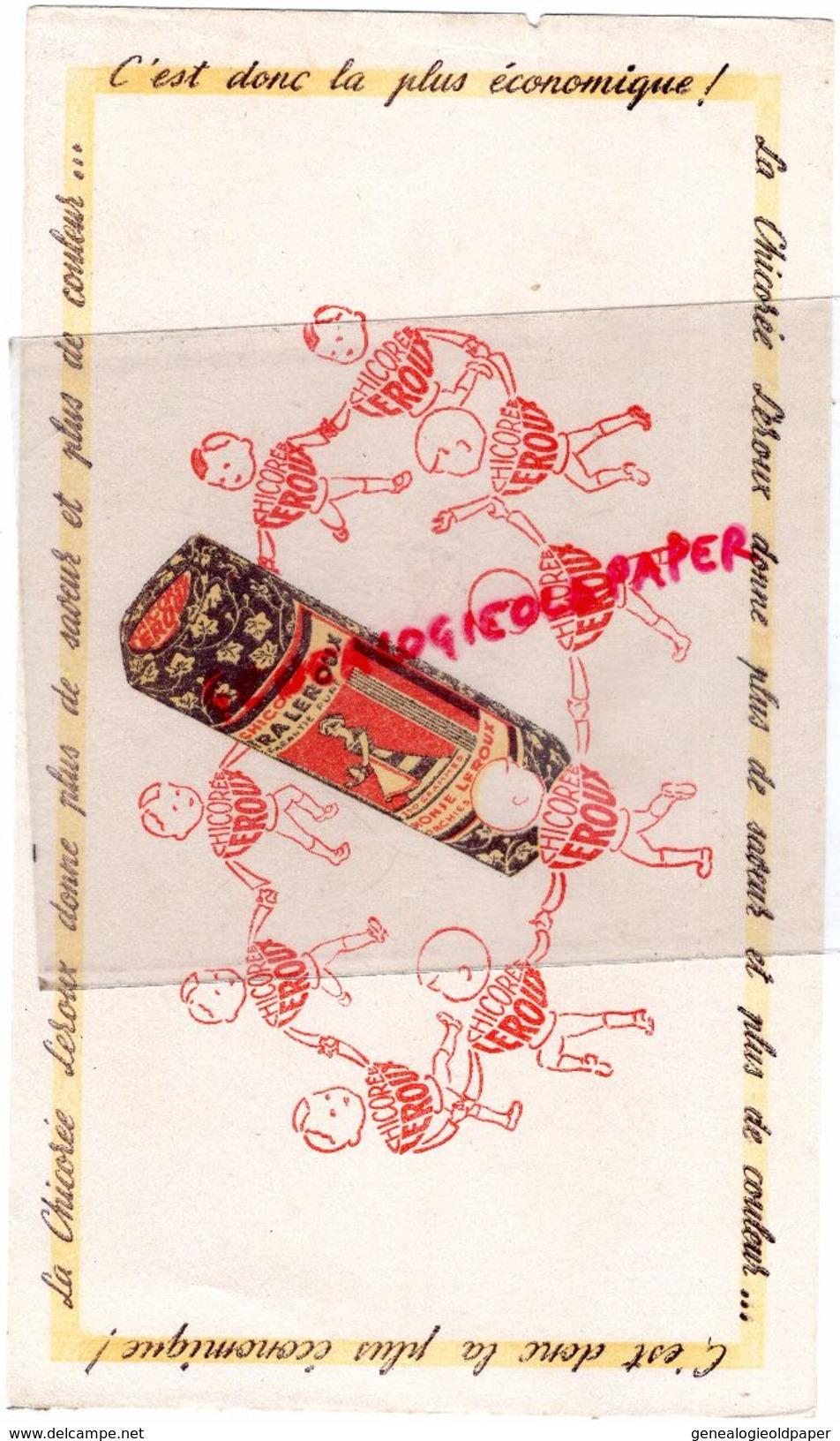 59 - ORCHIES- BUVARD CHICOREE LEROUX - RONDE DANSE D' ENFANTS - Buvards, Protège-cahiers Illustrés