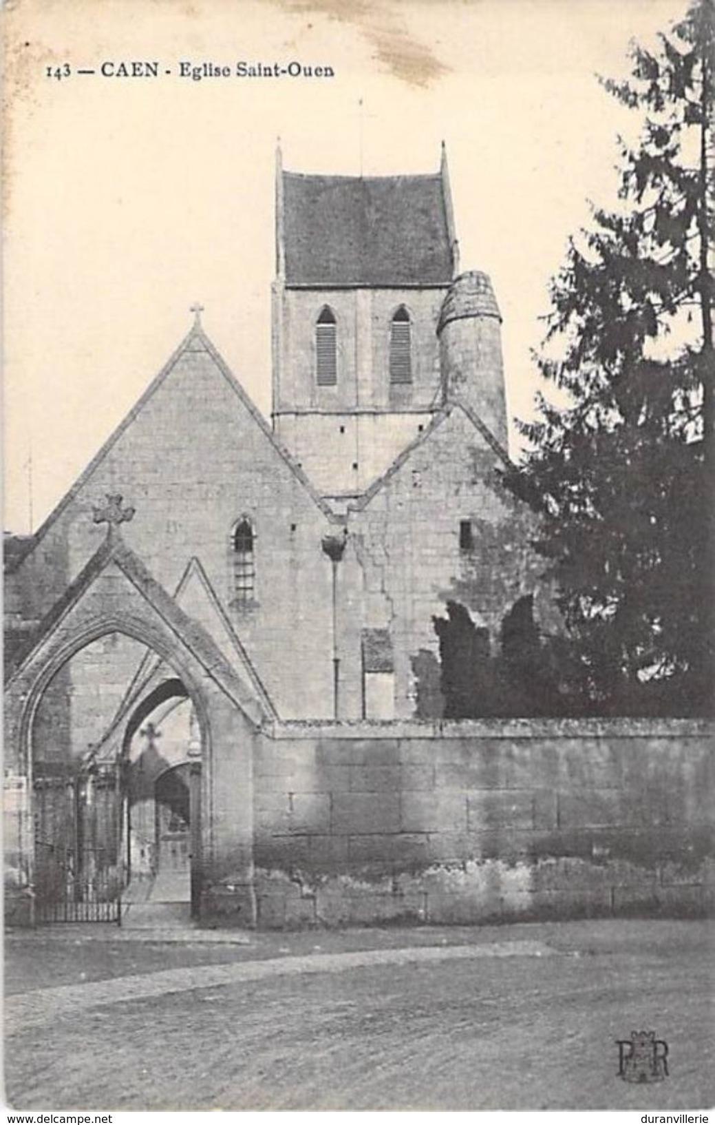 14 - CAEN. Eglise Saint Ouen - Caen