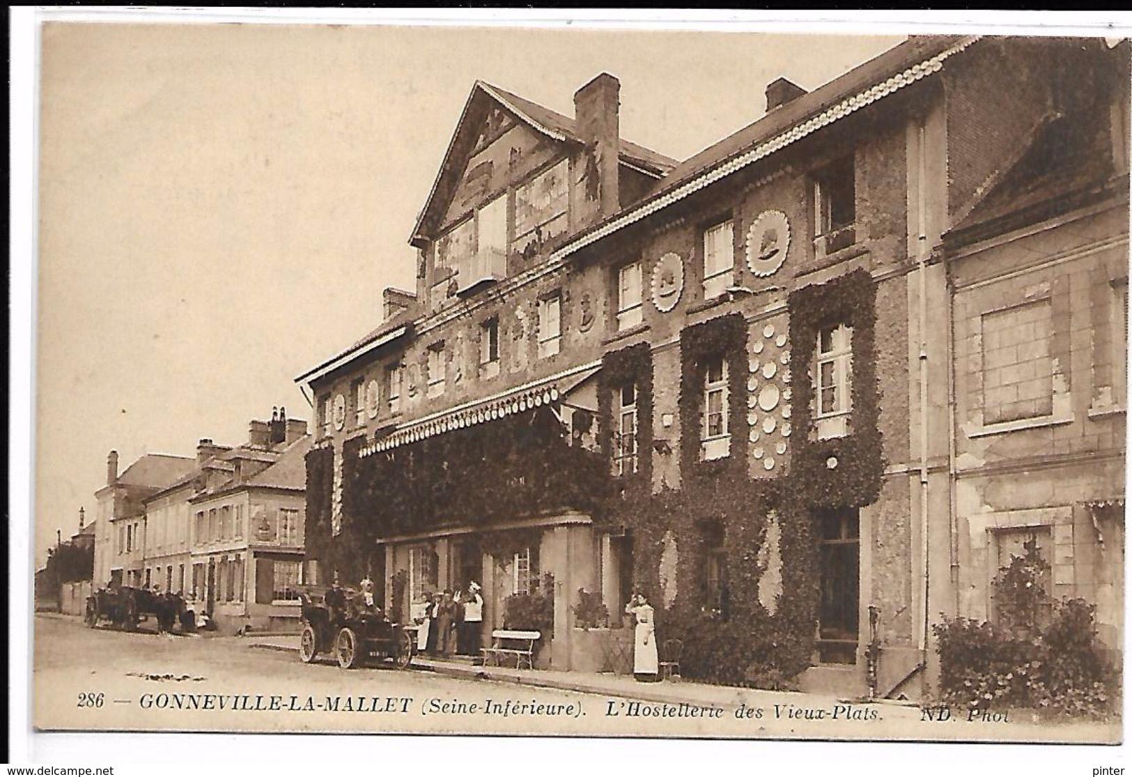 GONNEVILLE  LA MALLET - L'Hostellerie Des Vieux Plats - France