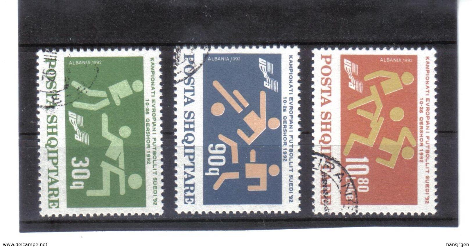 ALB166  ALBANIEN 1992  MICHL  2499/01  Used / Gestempelt SIEHE ABBILDUNG - Albania