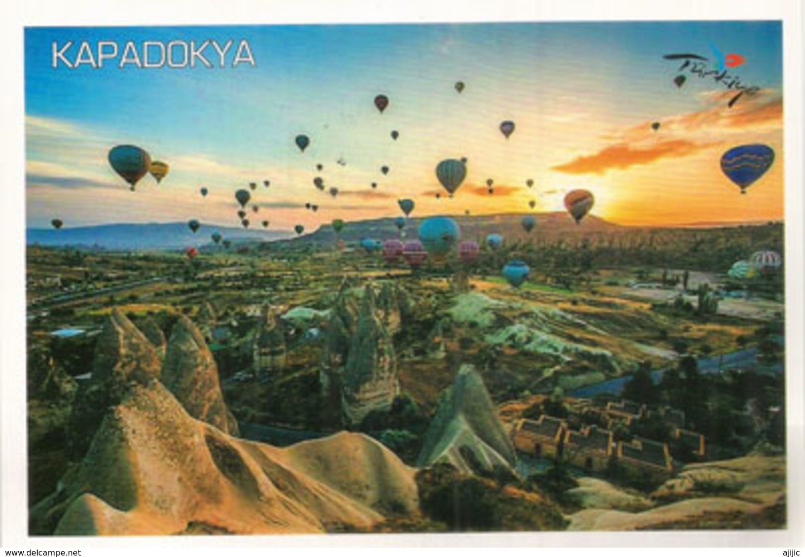 View Of Cappadocia Landscape, Beautiful Postcard Addressed To ANDORRA, With Arrival Postmark - Turquie