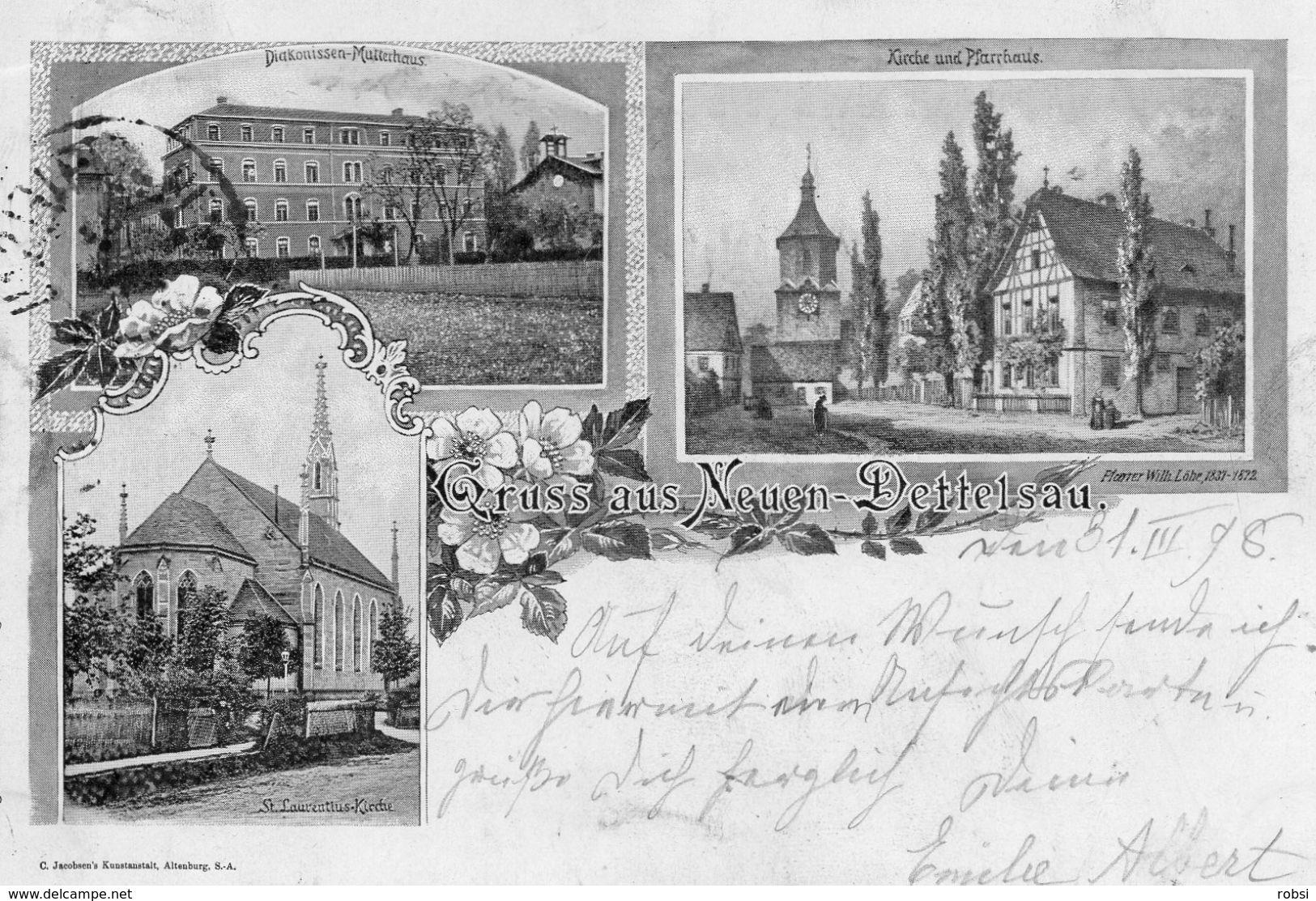 Deutschland Bayern Gruss Aus Neuendettelsau, Diaconese - Neuendettelsau