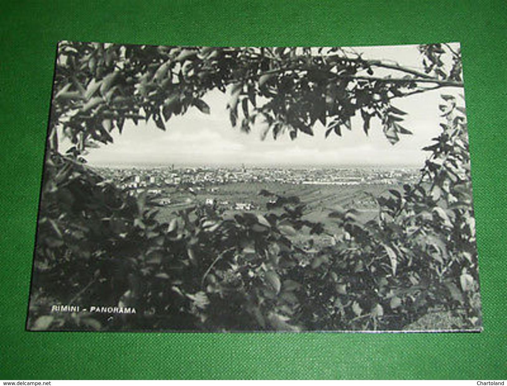 Cartolina Rimini - Panorama 1955 Ca - Rimini