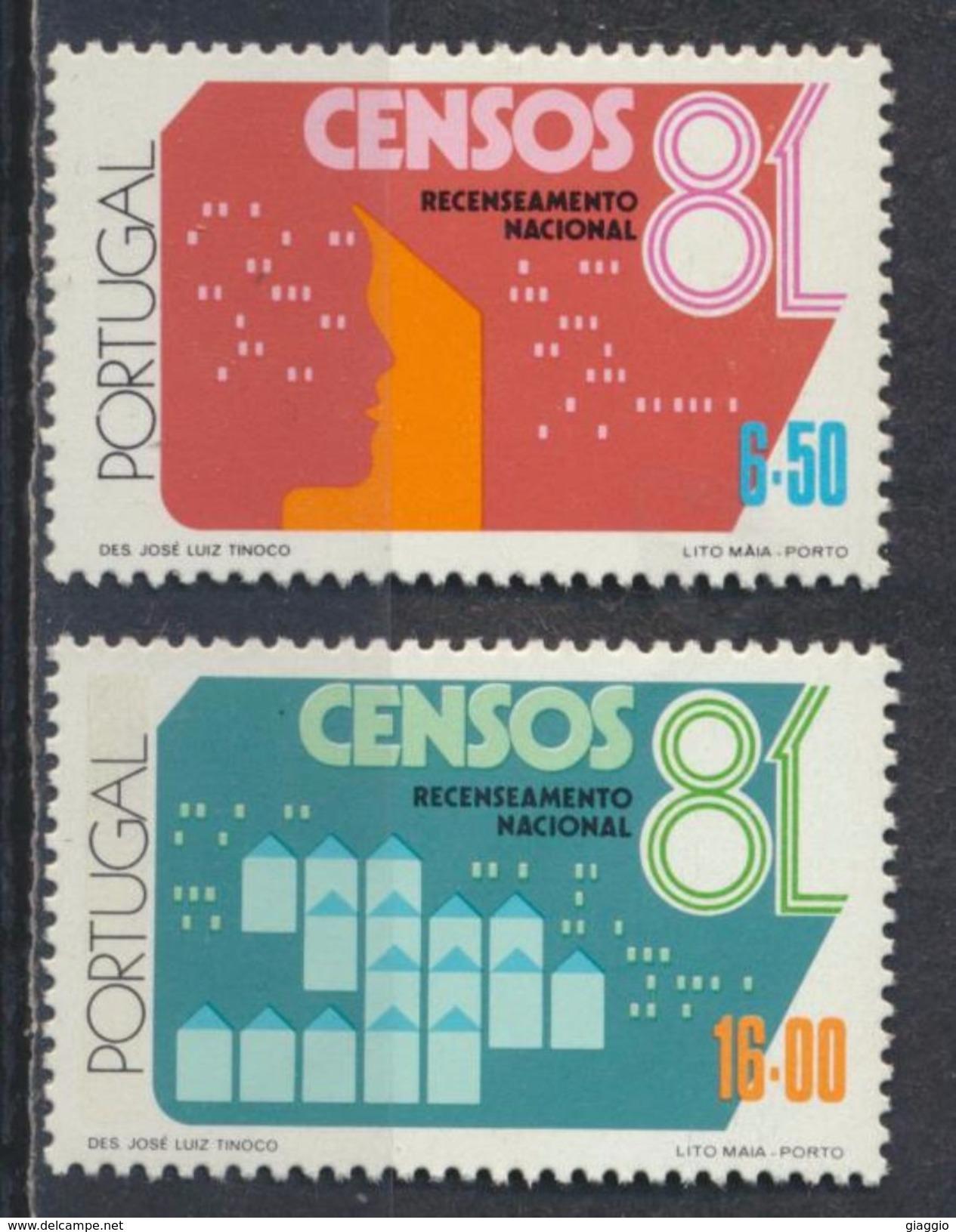 °°° PORTUGAL - Y&T N°1492/93 - 1981 MNH °°° - 1910-... República