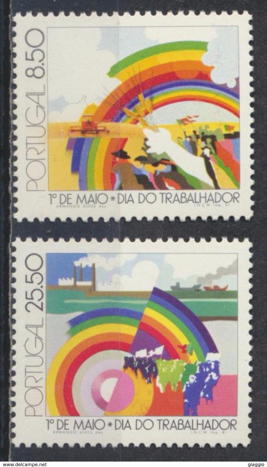 °°° PORTUGAL - Y&T N°1507/8 - 1981 MNH °°° - 1910-... República