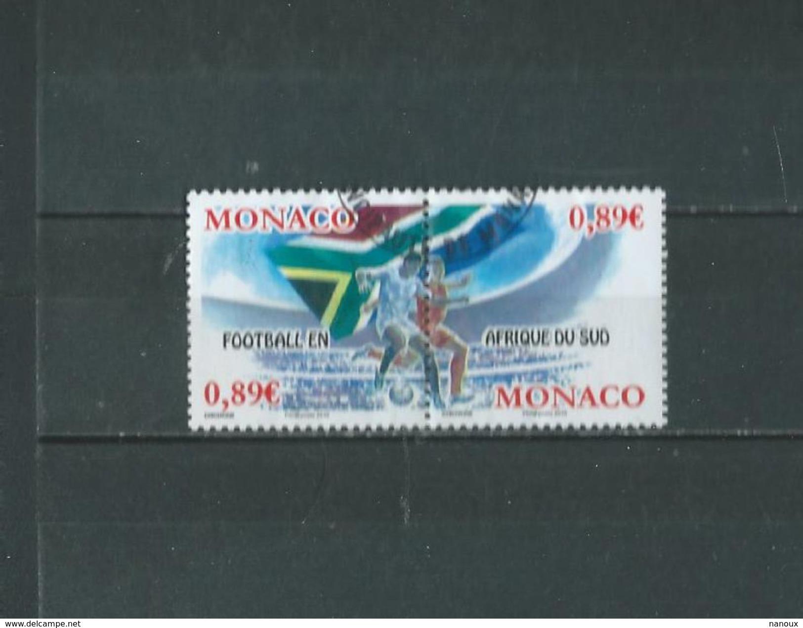 Timbre Oblitére De Monaco 2010 - Monaco