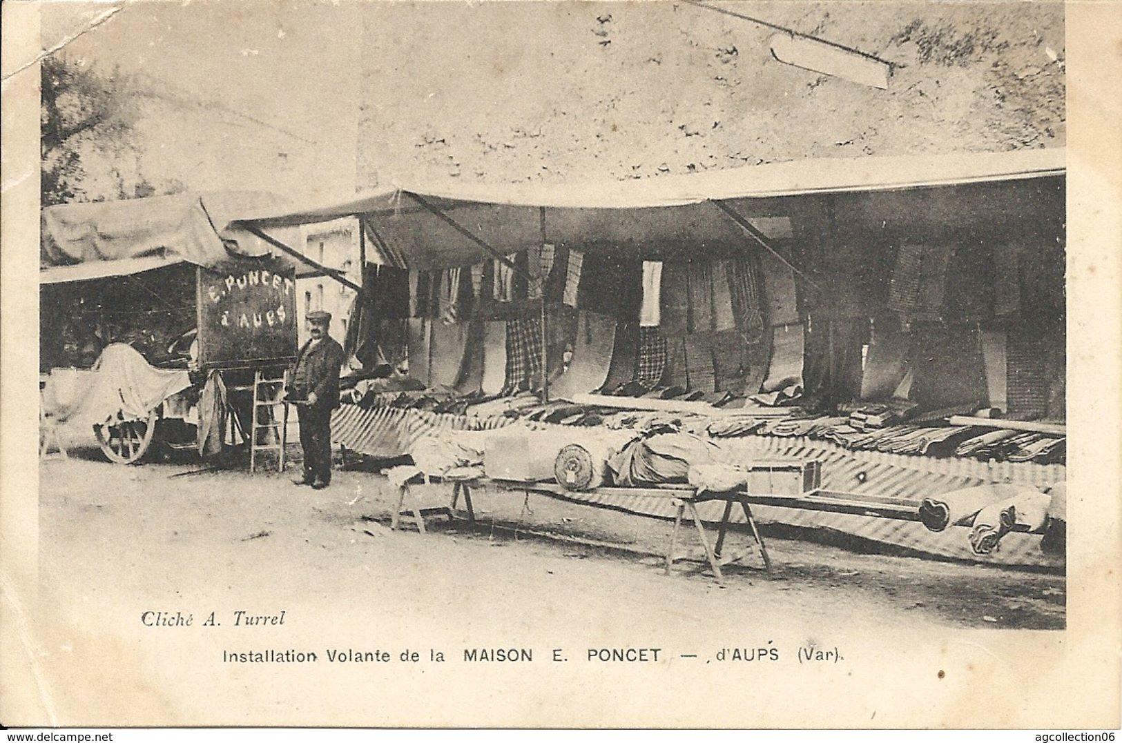 INSTALLATION VOLANTE DE LA MAISON E. PONCET - Aups