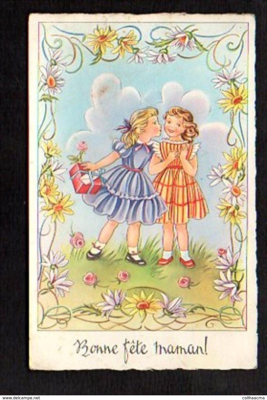 Fête Des Mères / Bonne Fête Maman / Enfants,fleurs - Fête Des Mères