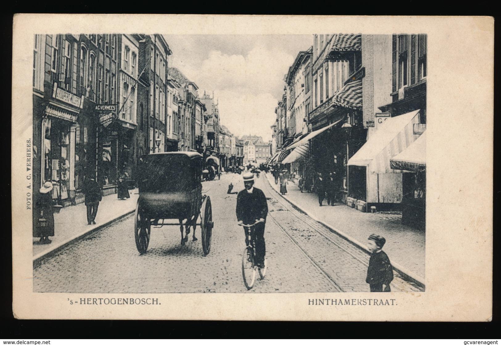 's HERTOGENBOSCH == HINTHAMERSTRAAT - 's-Hertogenbosch