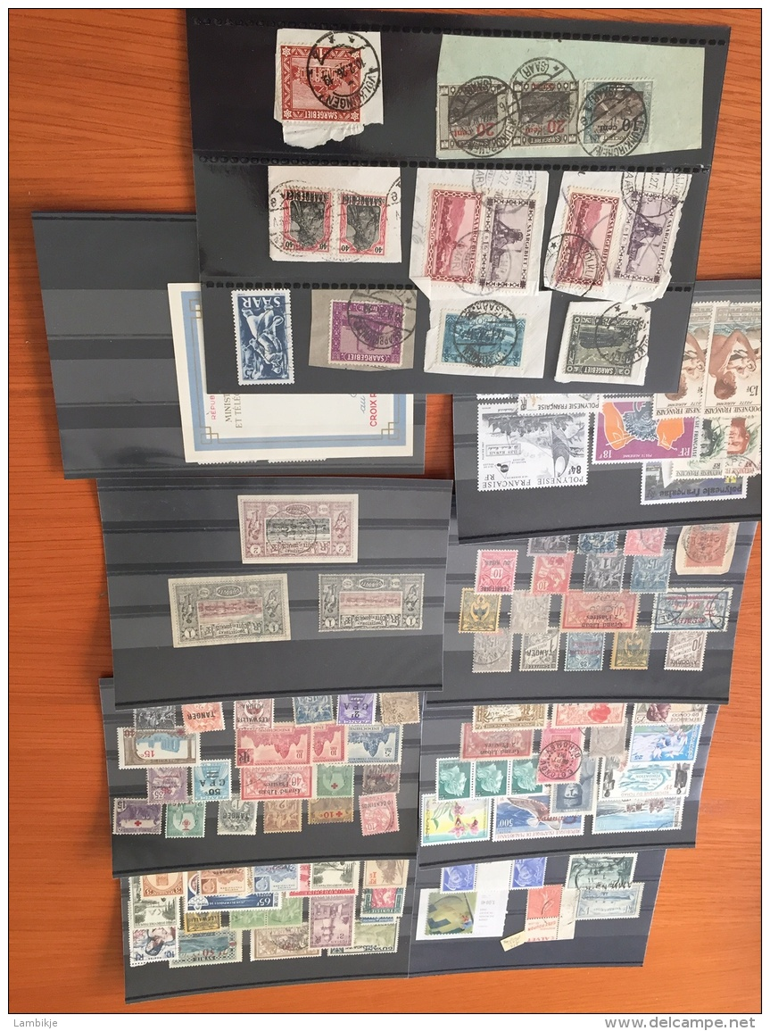 Sammlung Von Circa 1250 Briefmarken Deutsches Reich Usw. - Postzegels