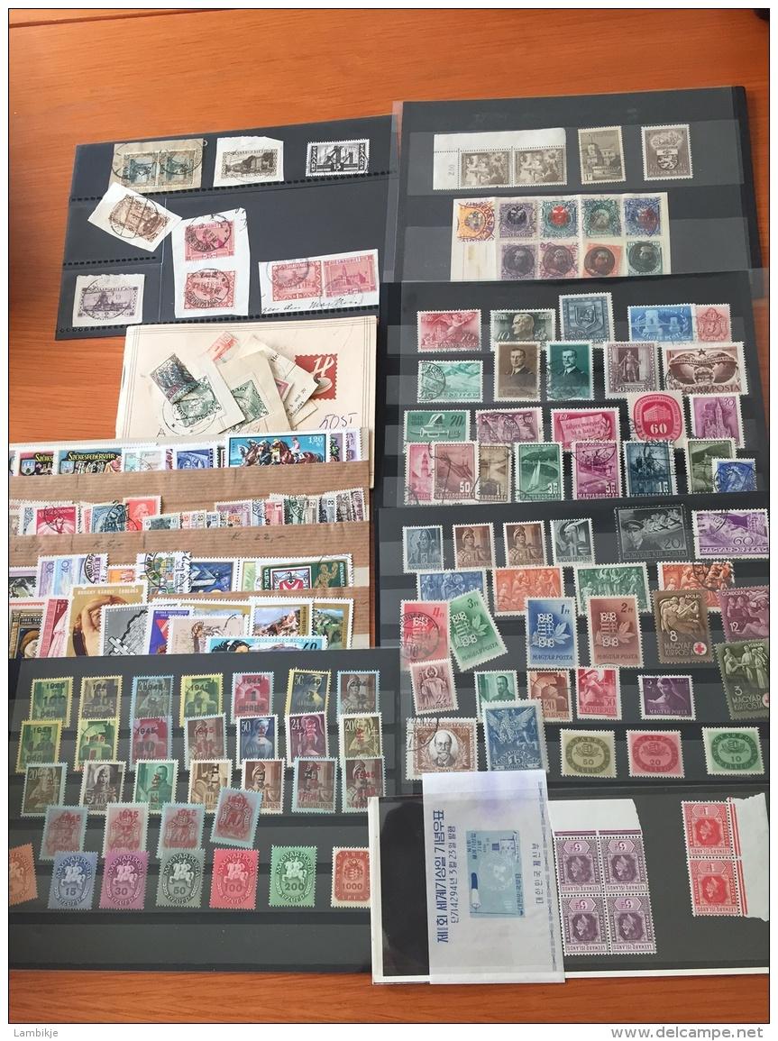 Sammlung Von Circa 1250 Briefmarken Deutsches Reich Usw. - Timbres