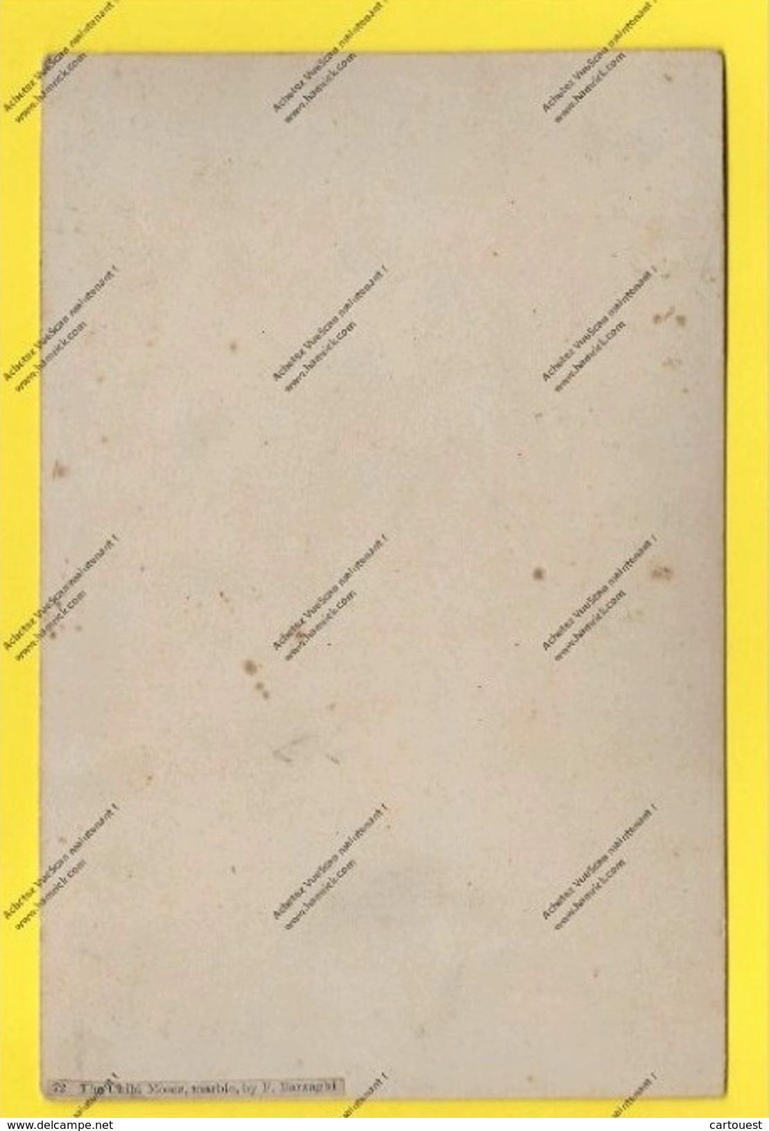 """PARIS EXPOSITION UNIVERSELLE 1878 ANCIENNE PHOTO Papier Sur Carton """" L Enfant Moïse Par Barzaghi Statue Marbre """" - Photographs"""