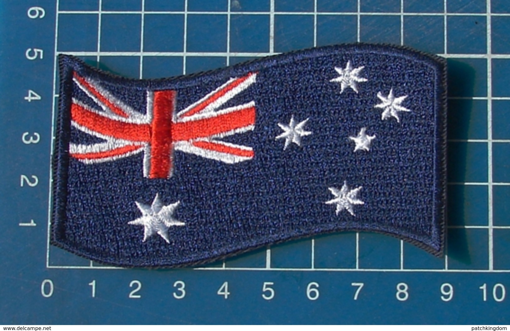 Australia Australian Flags Sew On Embroidery Patch - Flags