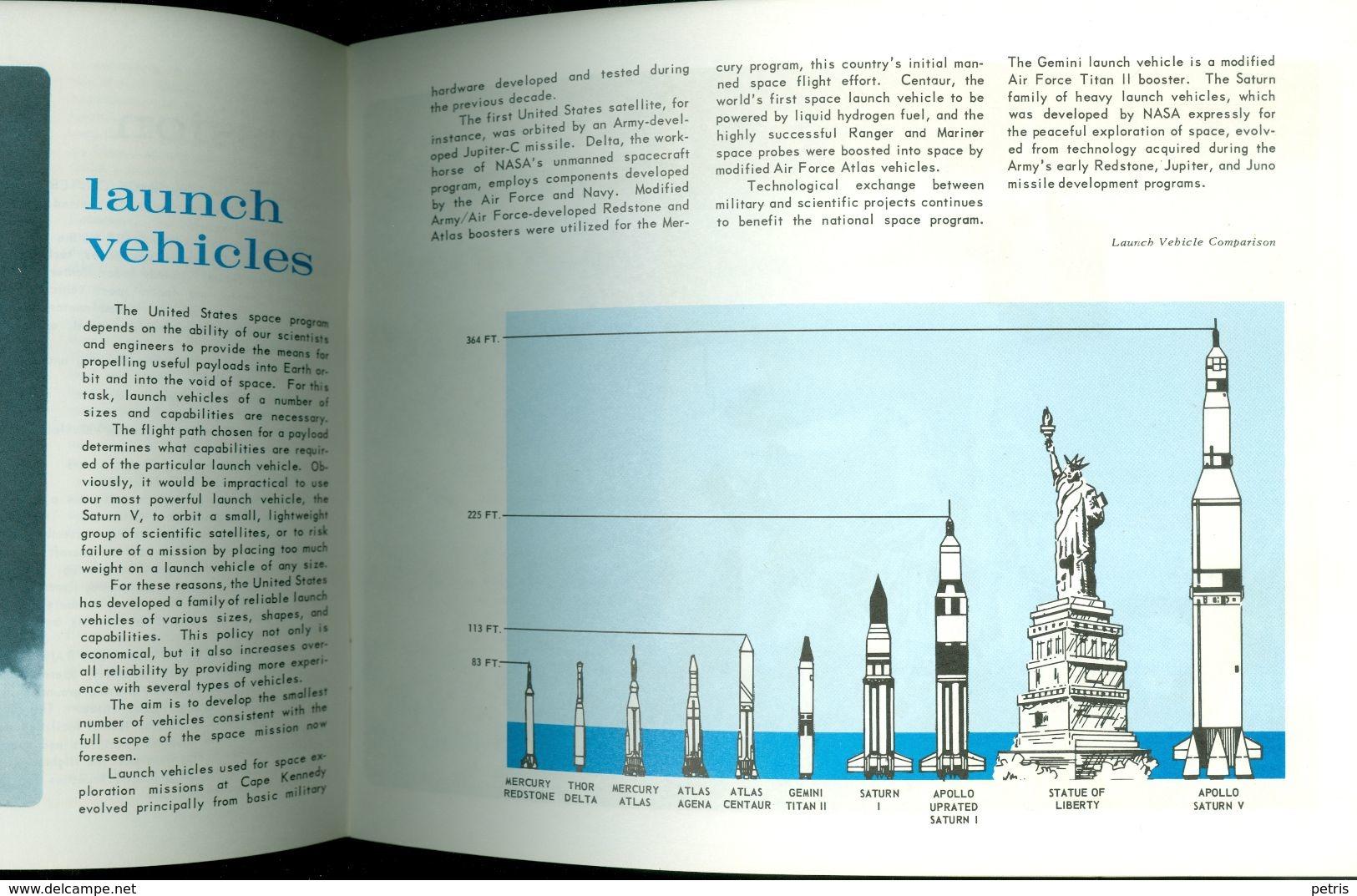 NASA At The J. F. Kennedy Space Center Souvenir Book 1970 - Livres, BD, Revues