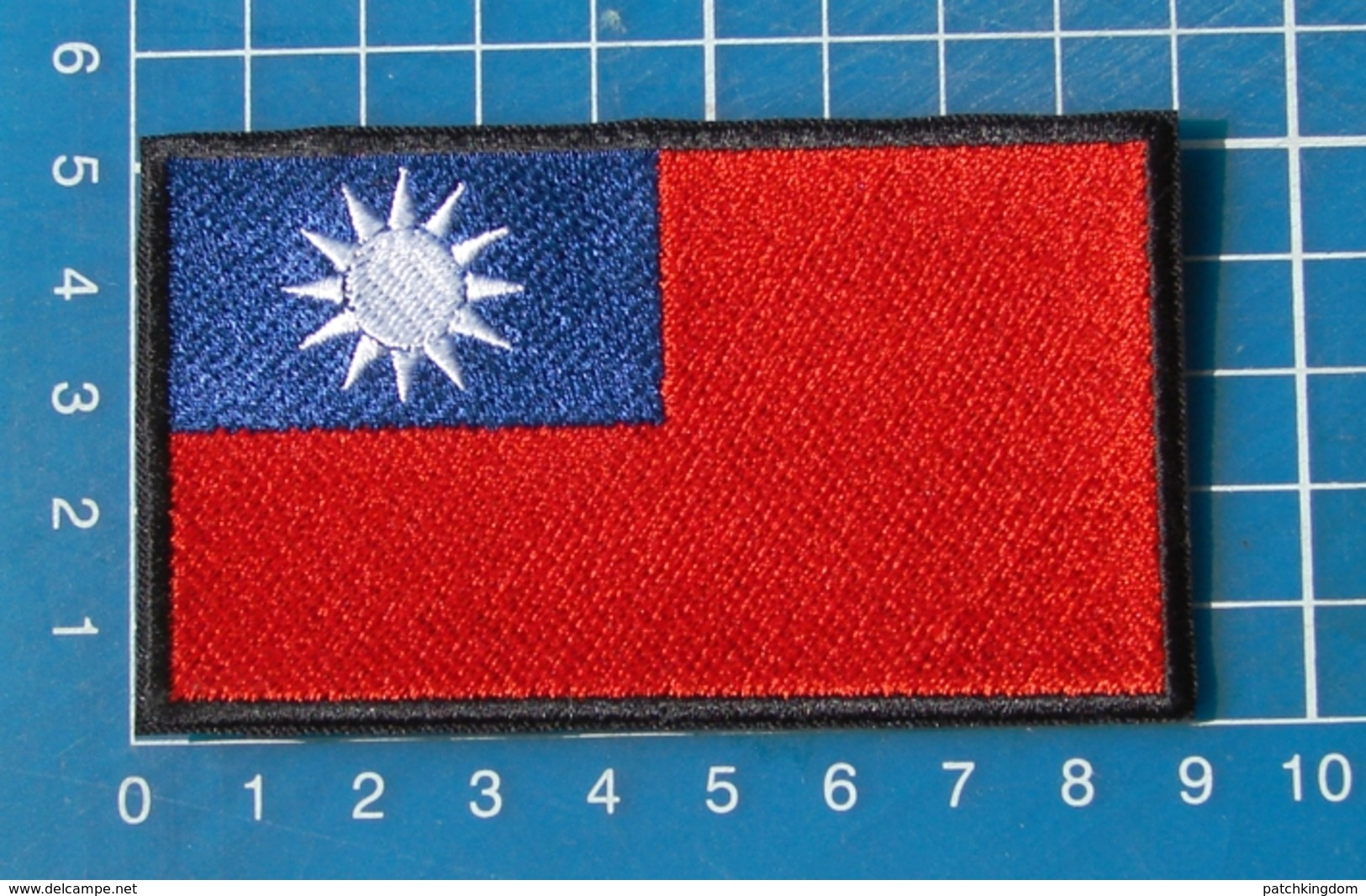 Thailand Flag Patch Sew On Embroidery - Flags
