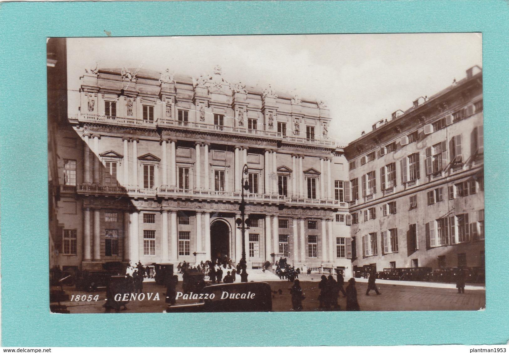 Old Postcard Of Palazzo Ducale,Genova,Genoa, Liguria, Italy,Posted,K35. - Genova (Genoa)