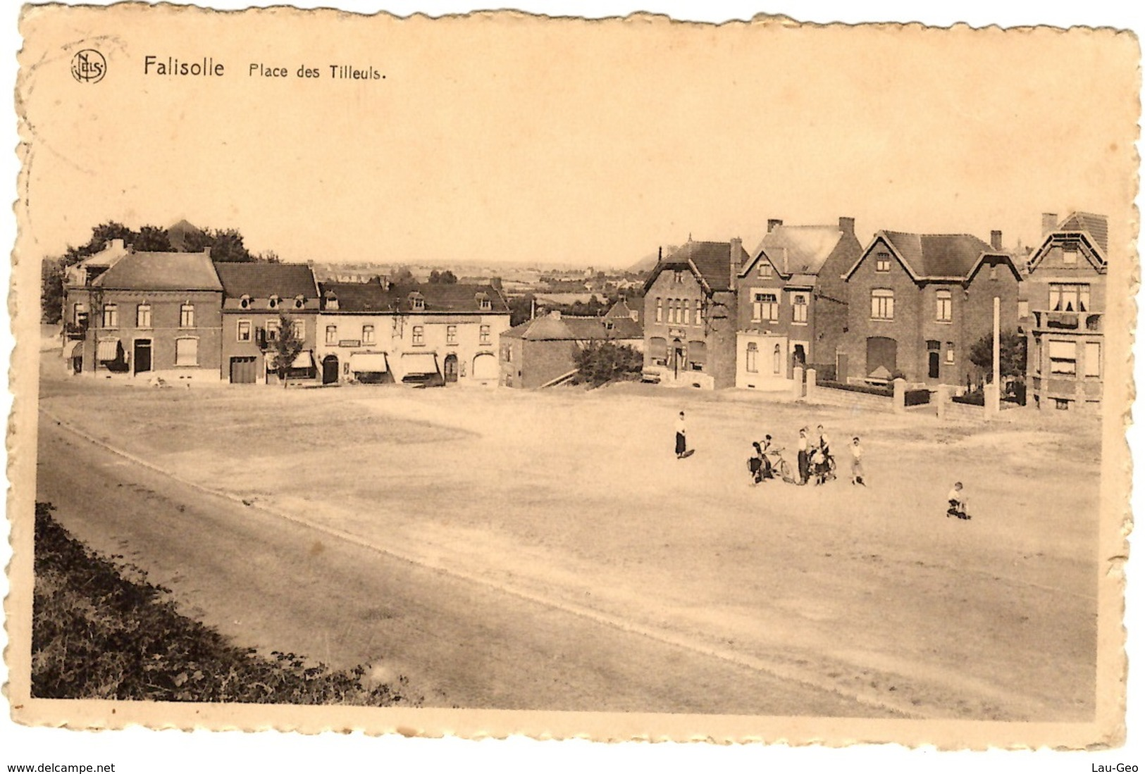 Falisolle (Sambreville). Place Des Tilleuls - Sambreville