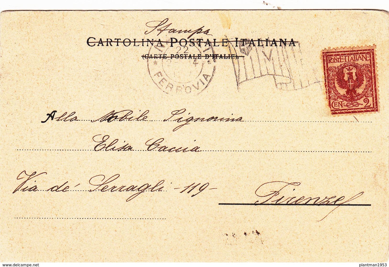 Old Postcard Of ,Napoli,Naples, Campania, Italy,Posted,N39. - Napoli (Naples)