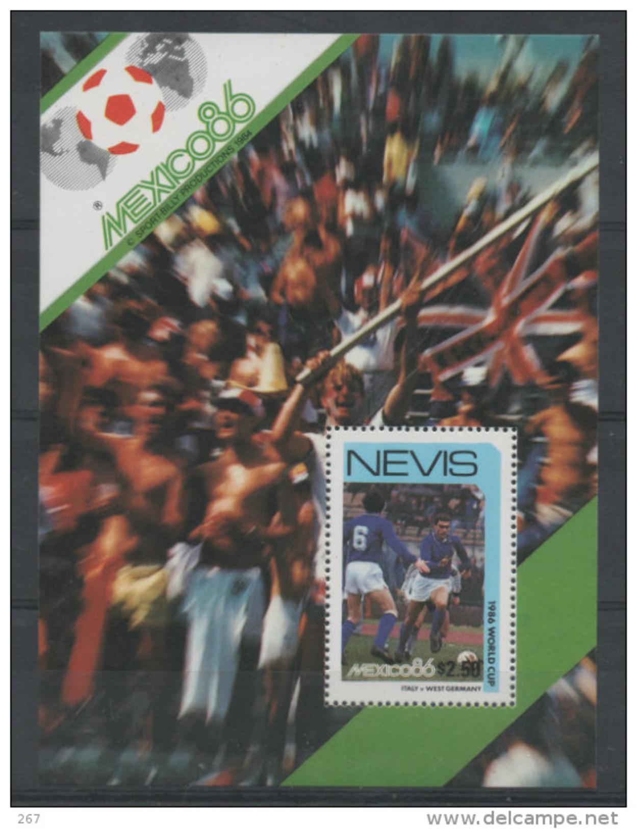 NEVIS  BF  13   * *  ( Cote 4e ) Cup 1986    Football  Soccer  Fussball - 1986 – Messico