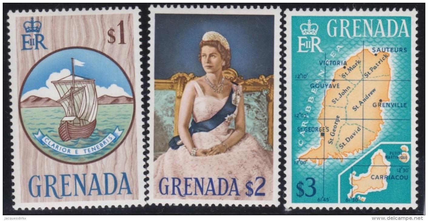 Grenada    .    SG     .   243/245       .       *         .   Ongebruikt    .    /  .     Mint-hinged - Grenada (...-1974)