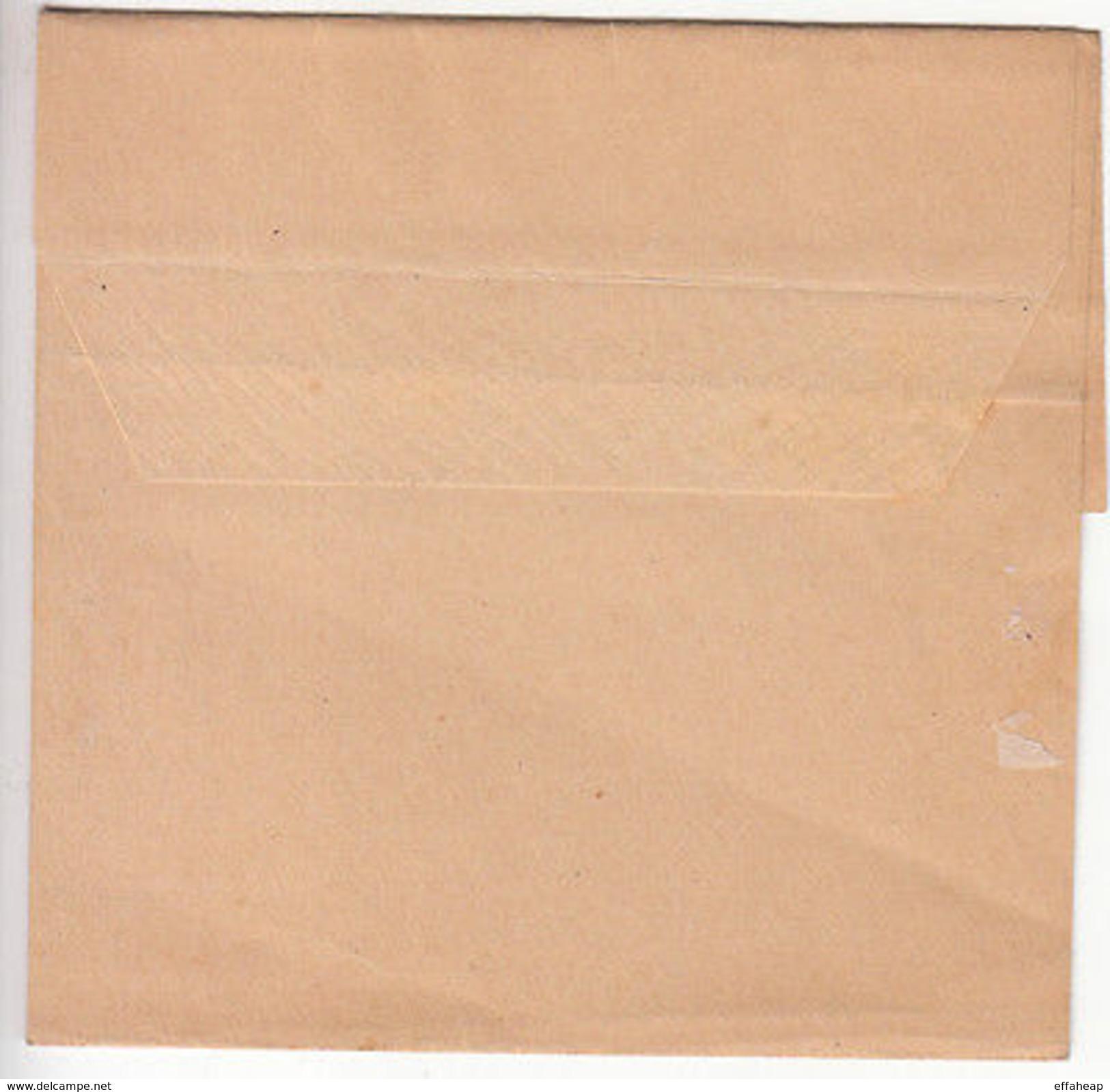 Cyprus: QV Ten Paras Newspaper Wrapper, Larnaca To Nicosia, 3 April 1894 - Cyprus (...-1960)