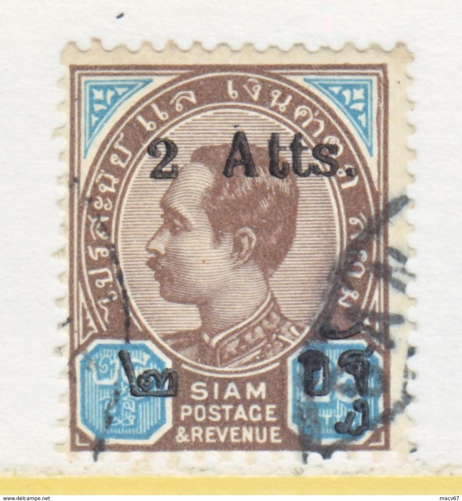 SIAM   91    (o)    Feb. 1904  Issue - Siam