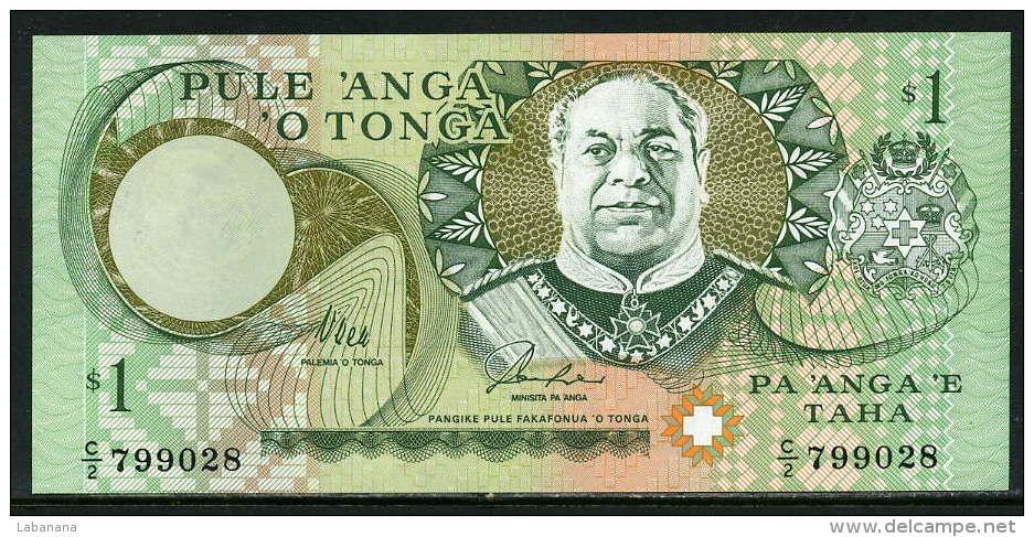 280-Tonga Billet De 1 Pa'anga 1995 C2 Neuf - Tonga