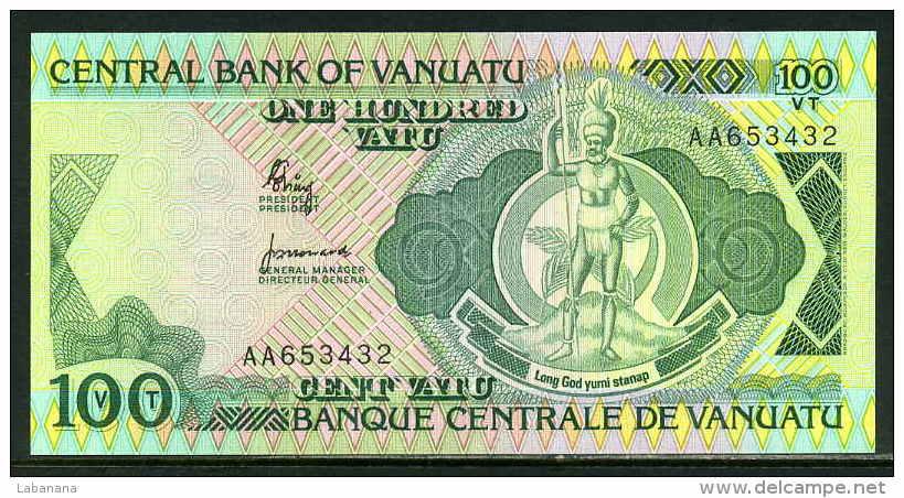 216-Vanuatu Billet De 100 Vatu 1982 AA654 Neuf - Vanuatu