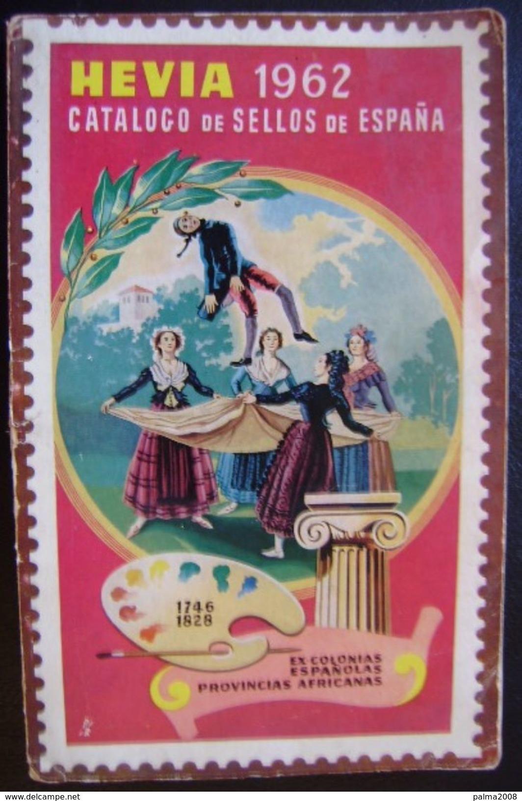 CATALOGO DE ESPAÑA Y EXCOLONIAS -- HEVIA DEL AÑO 1962 -- VER FOTOS ADICIONALES - Spanje