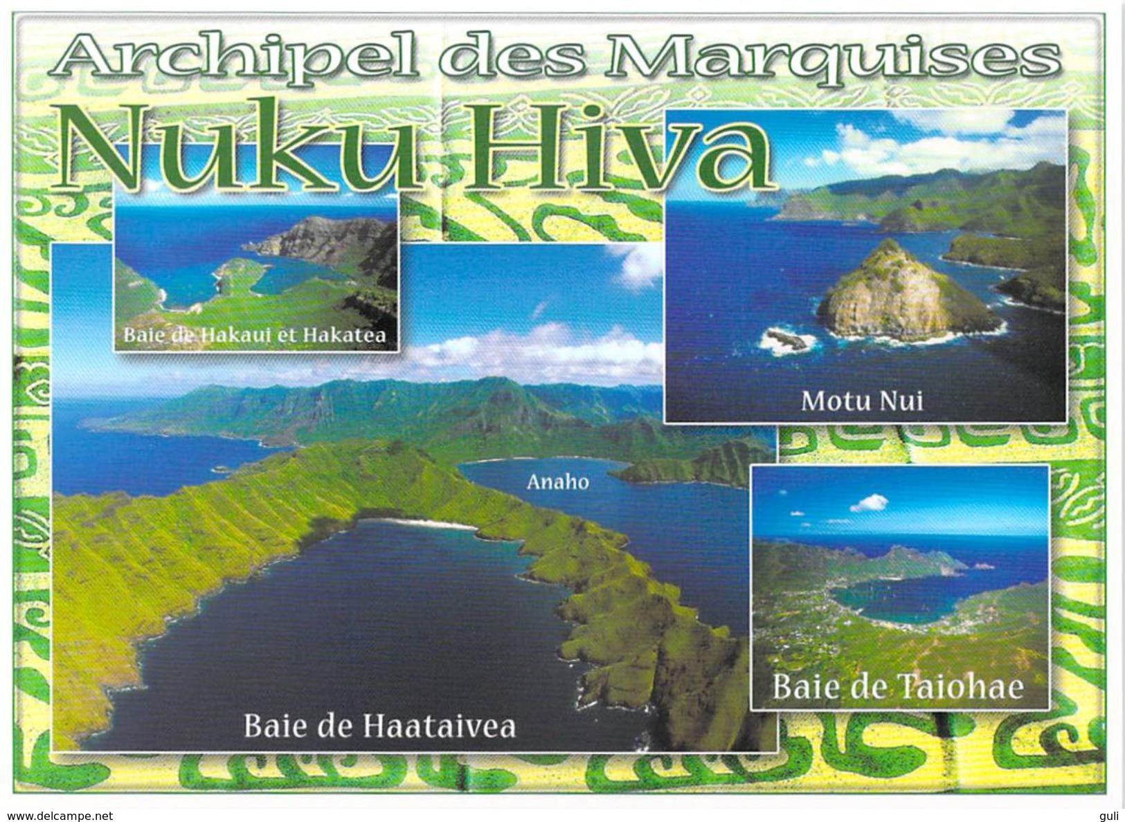 Polynésie Française Souvenirs De  NUKU HIVA Archipel Des  Marquises ( T.SYLVAIN 1479)*PRIX FIXE - Polynésie Française
