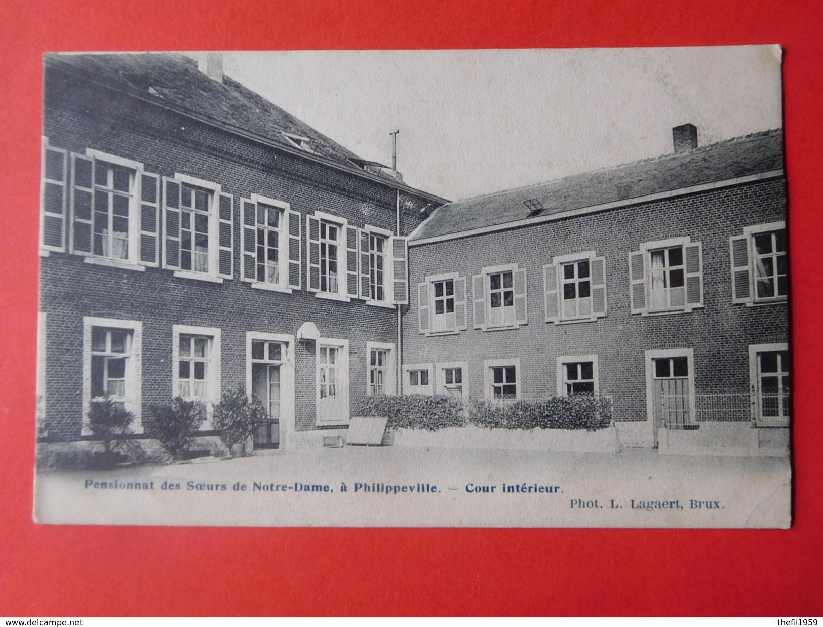 Philippeville Vers 1900 Pensionnat Des Soeurs De Notre Dame - Philippeville