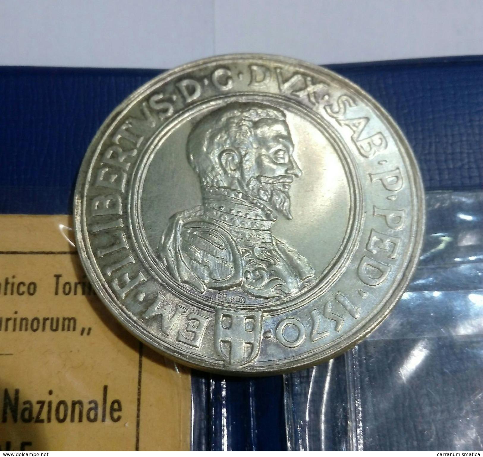 """Medaglia Del Gruppo Numismatico Torinese """"Augusta Taurinorum"""" - 1° Congresso Nazionale UNAFNE (Lurisia 1970) Argento - Professionali/Di Società"""