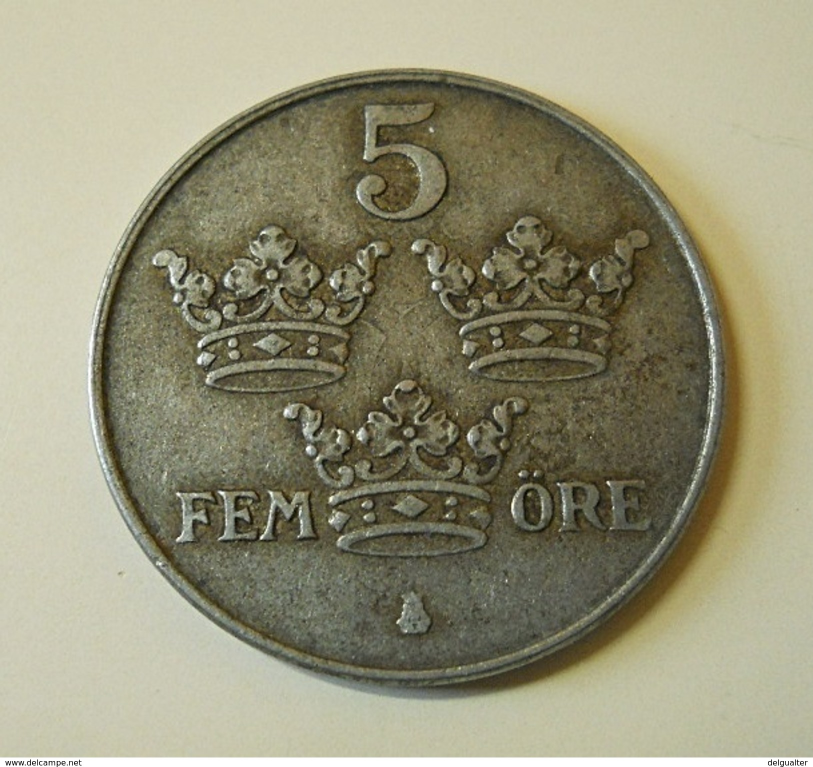Sweden 5 Ore 1942 - Schweden