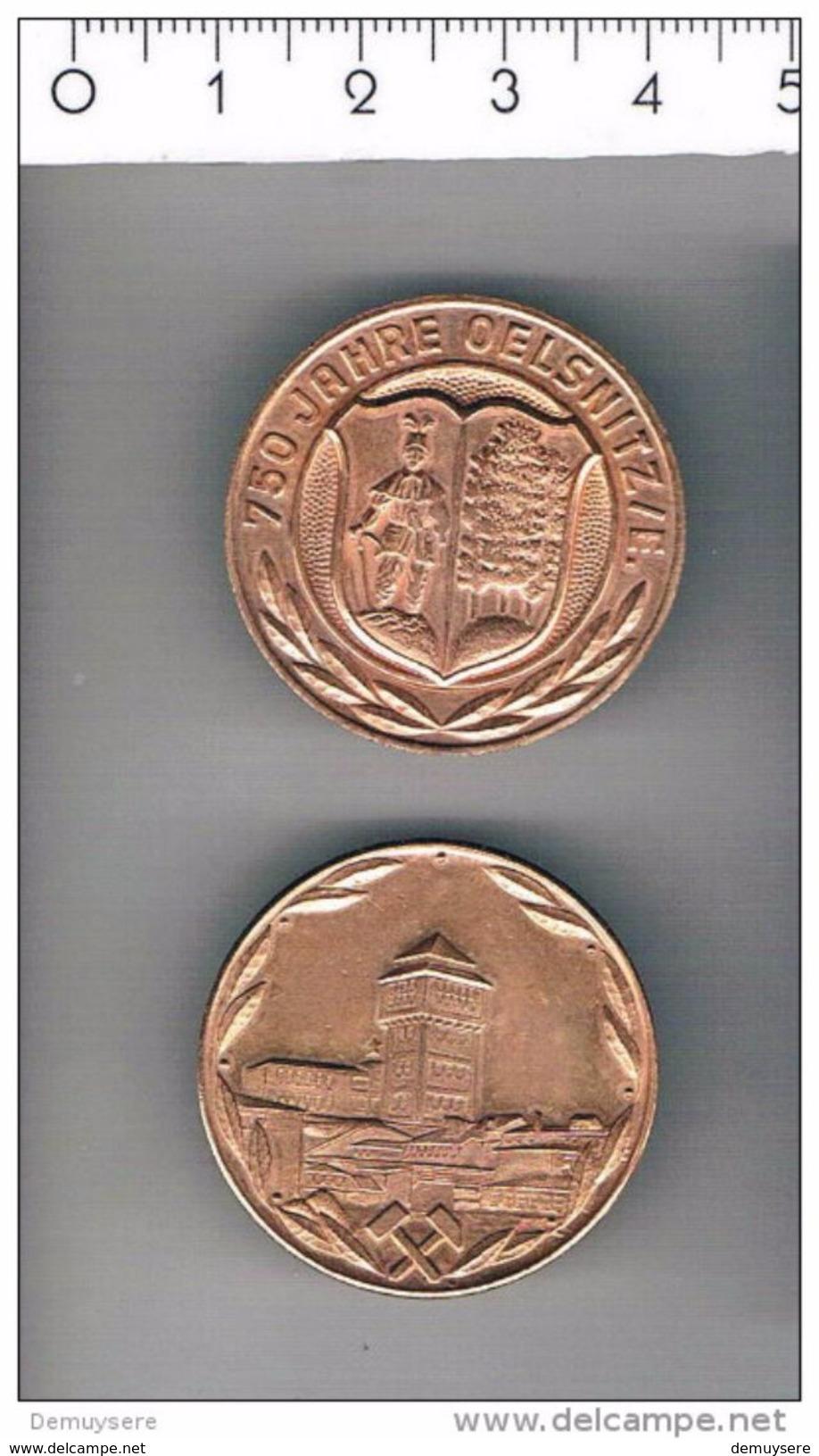 M 134 750 Jahre Oelsnitz Erz.gebirge - Deutschland