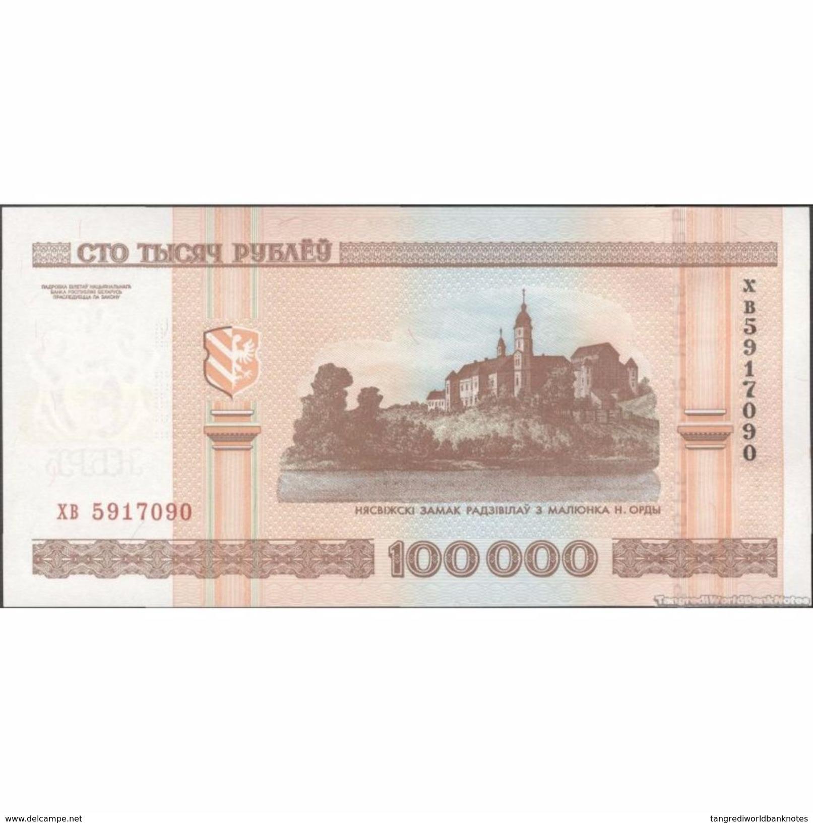 TWN - BELARUS 34b - 100000 100.000 Rublëy 2000 UNC - Bielorussia
