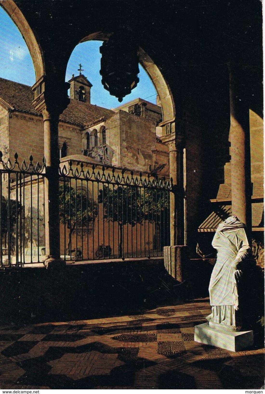 24897. Postal JEREZ De La FRONTERA (Cadiz) 1971. Vista Museo Y Biblioteca Municipal - 1931-Hoy: 2ª República - ... Juan Carlos I