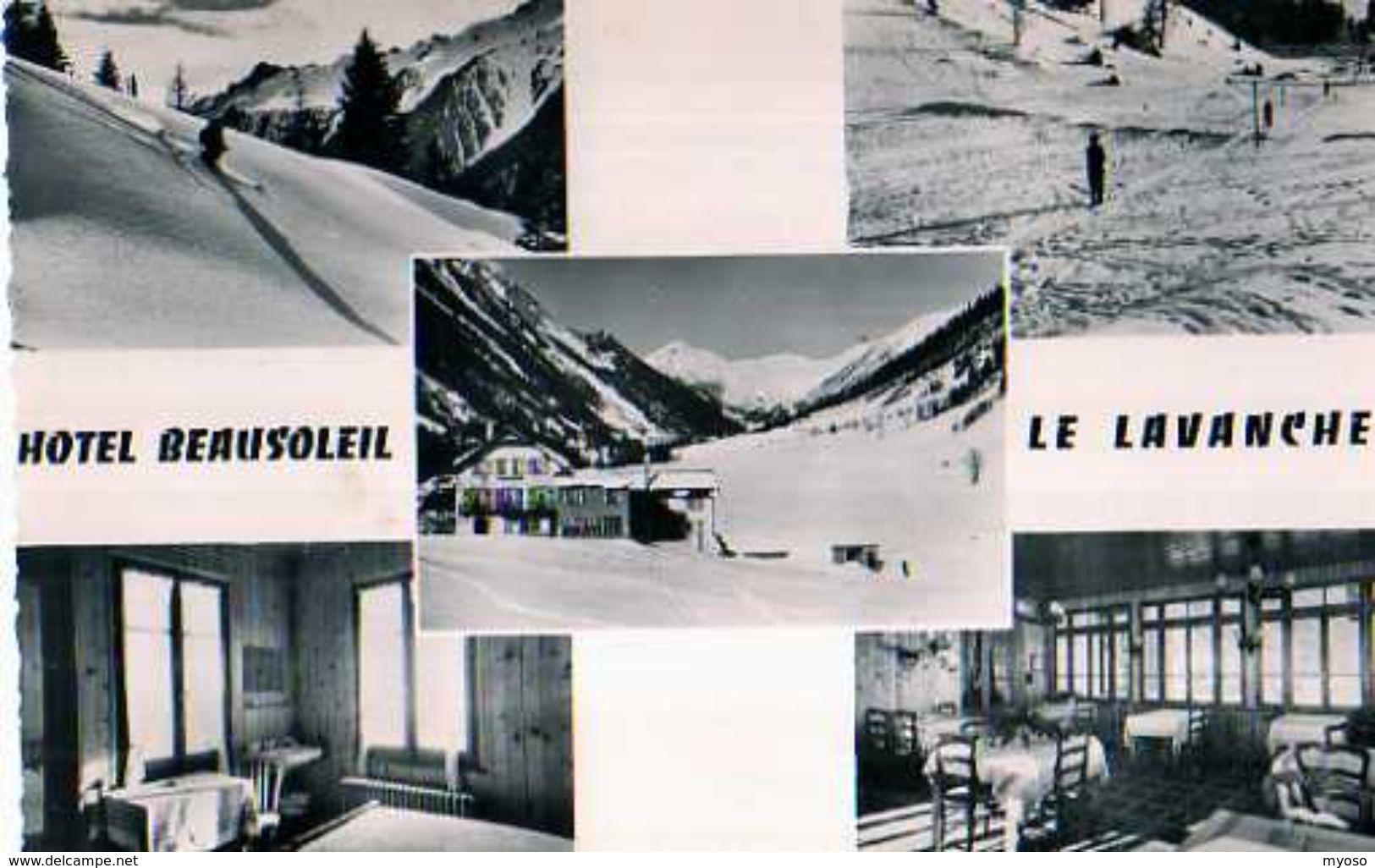74 LE LAVANCHER Hotel Beausoleil A 5 Km De Chamonix - France
