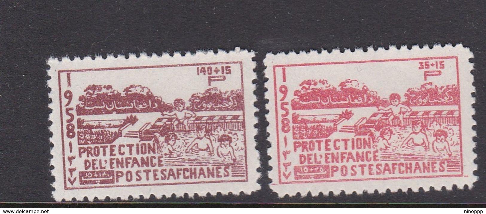 Afghanistan SG 426-427 1958 Child Welfare Fund MNH - Afghanistan