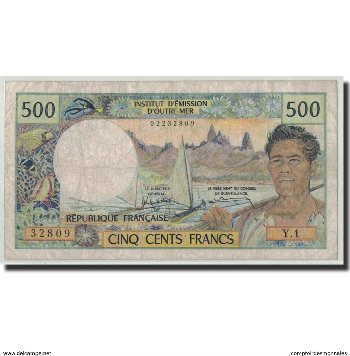 Nouvelle-Calédonie, 500 Francs, Undated (1969-92), KM:60e, TB - Nouvelle-Calédonie 1873-1985