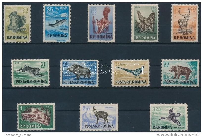 ** 1956 Állatok Sor Mi 1565-1576 - Stamps