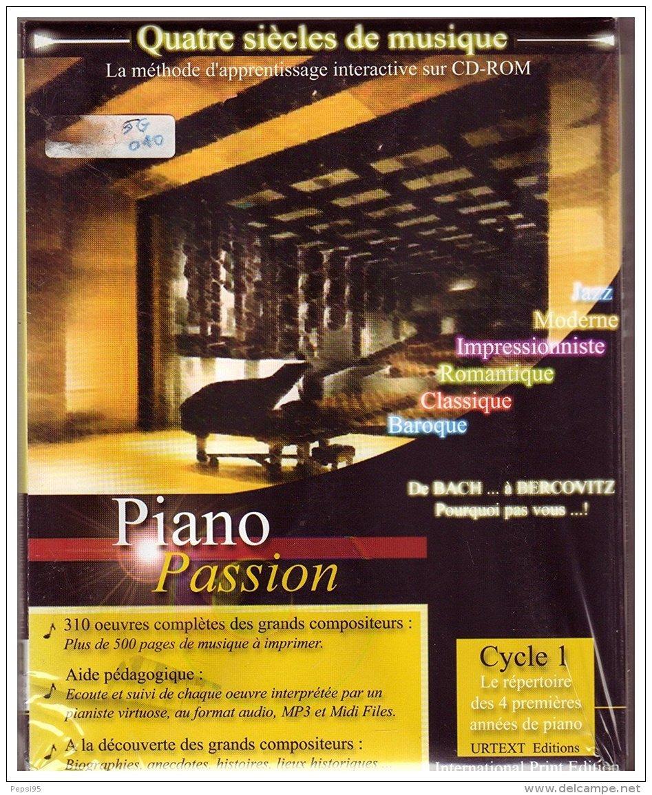 Piano Passion - Cycle 1 : Le Répertoire Des 4 Premières Années De Piano - 300 ÂŒuvres Complètes , 700 Midi-Files, 310 MP - CD