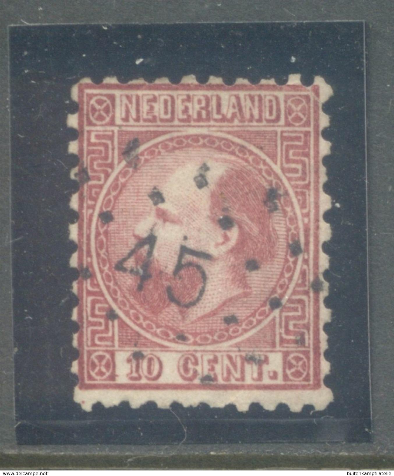 Nvph 8 I B - Periode 1852-1890 (Willem III)
