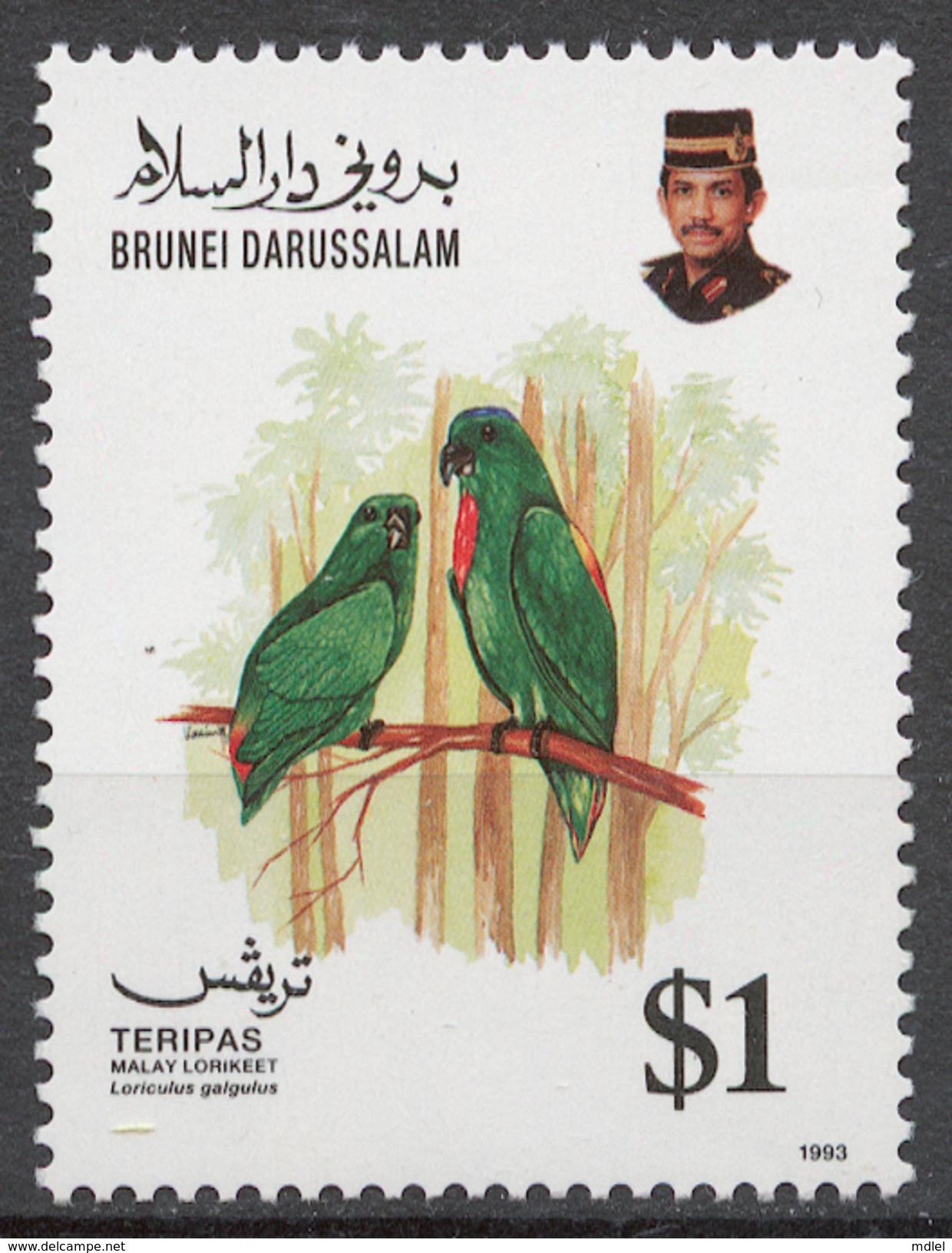 Brunei 1993 Mi# 464** BIRDS - Brunei (1984-...)