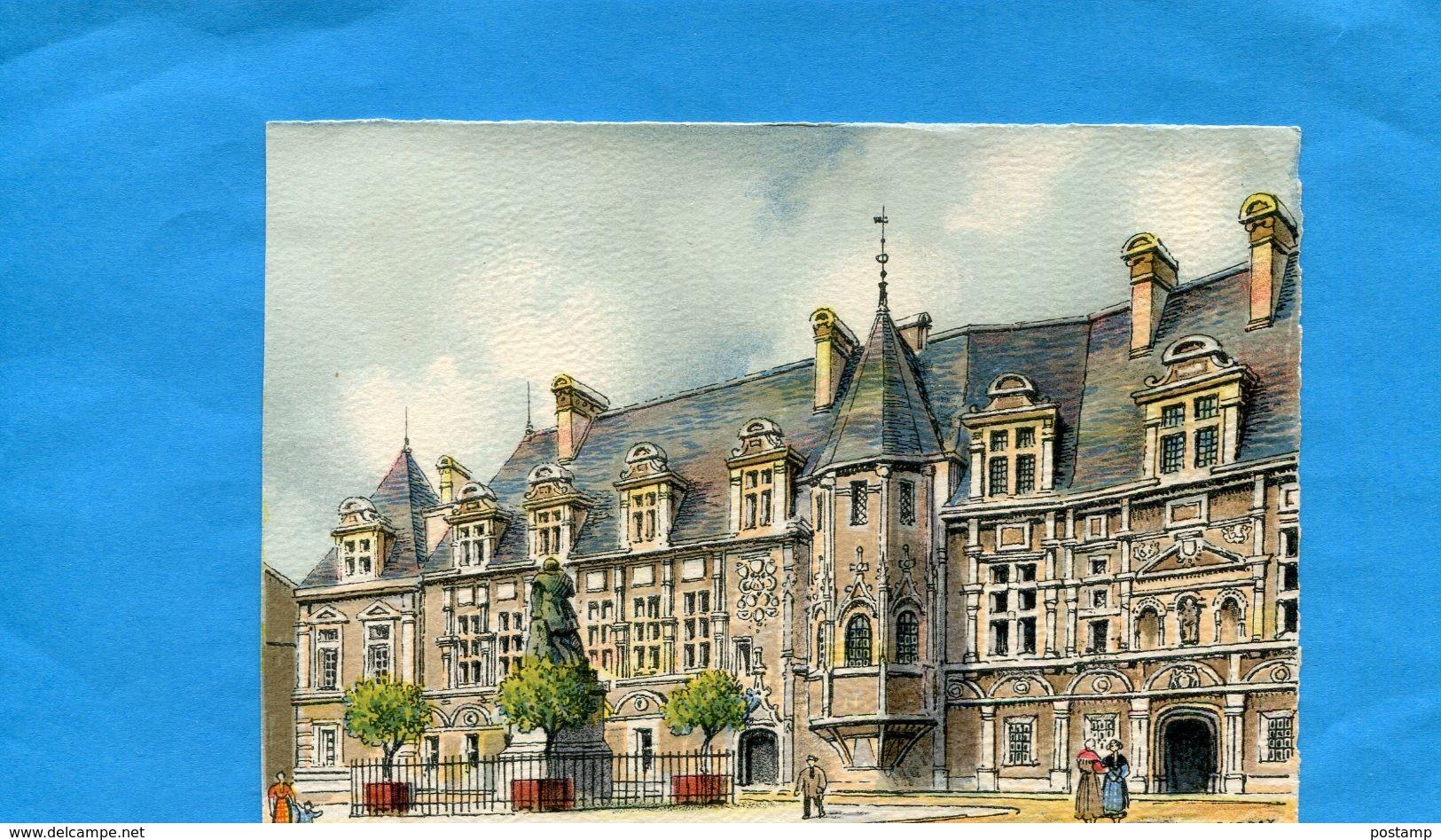 Illustrateur-BARDAY-carte BD-GRENOBLE-palais De Justice  Neuves - Barday