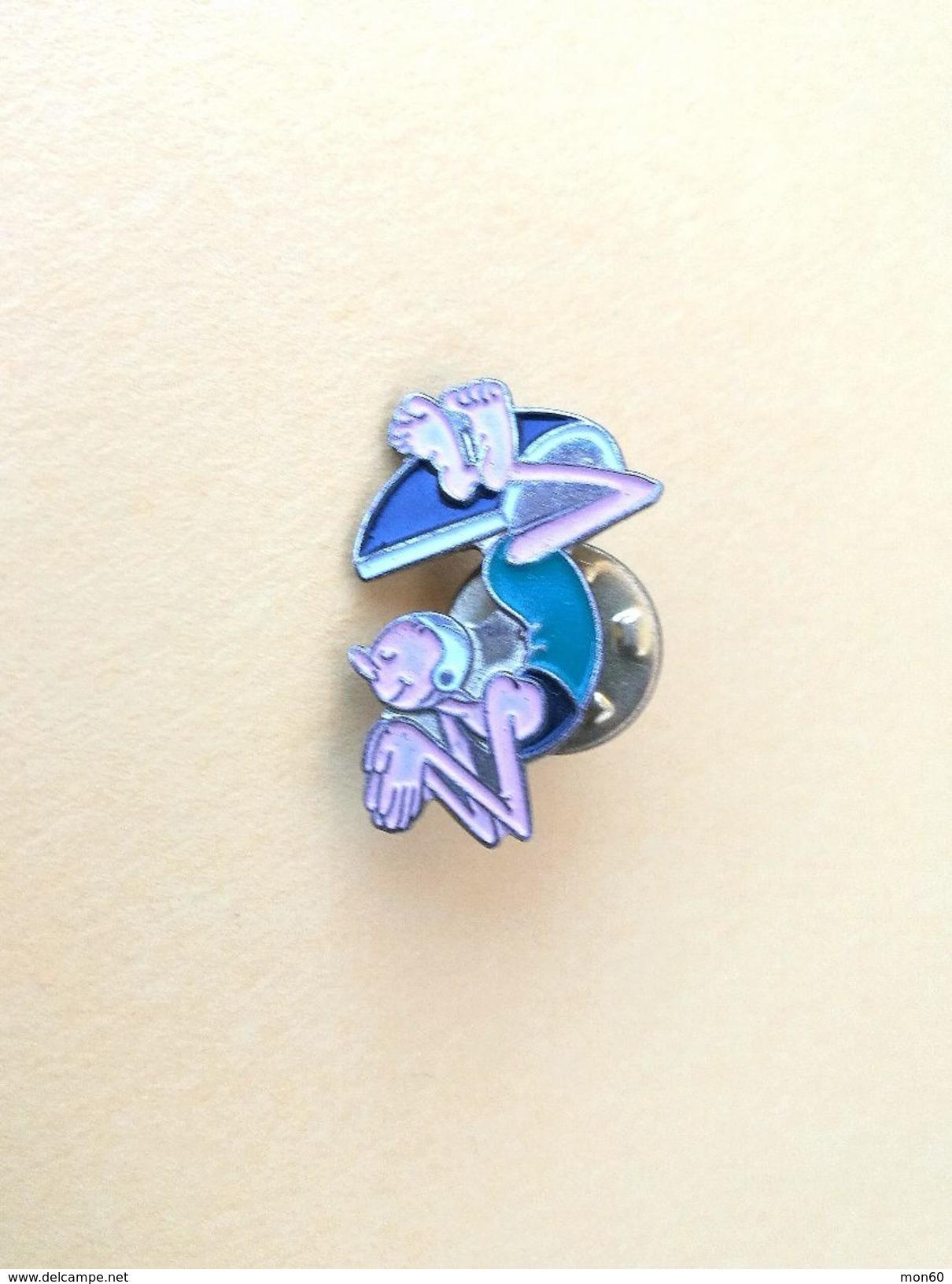 Pin Tuffatore, Nuoto - P520 - Pin's