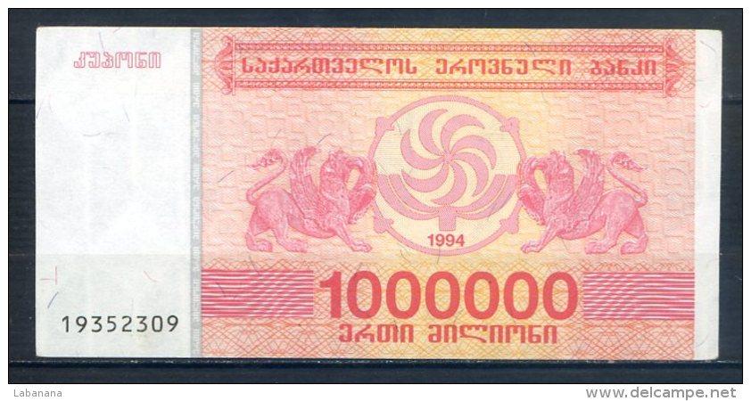 506-Géorgie Billet De 1 000 000 Laris 1994 - 193 - Géorgie