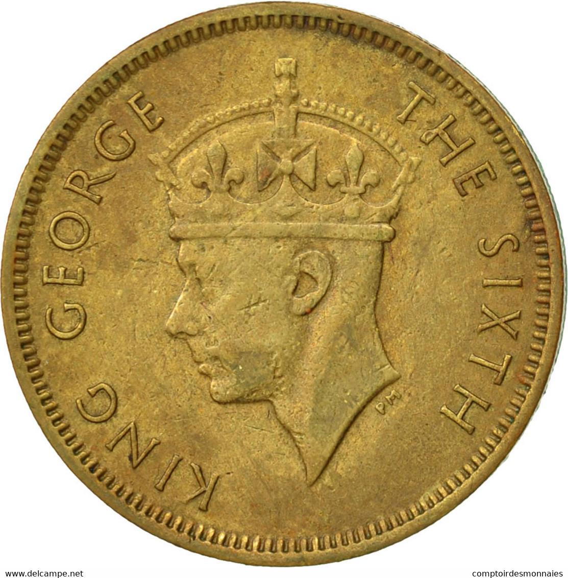 Hong Kong, George VI, 10 Cents, 1950, TTB, Nickel-brass, KM:25 - Hong Kong