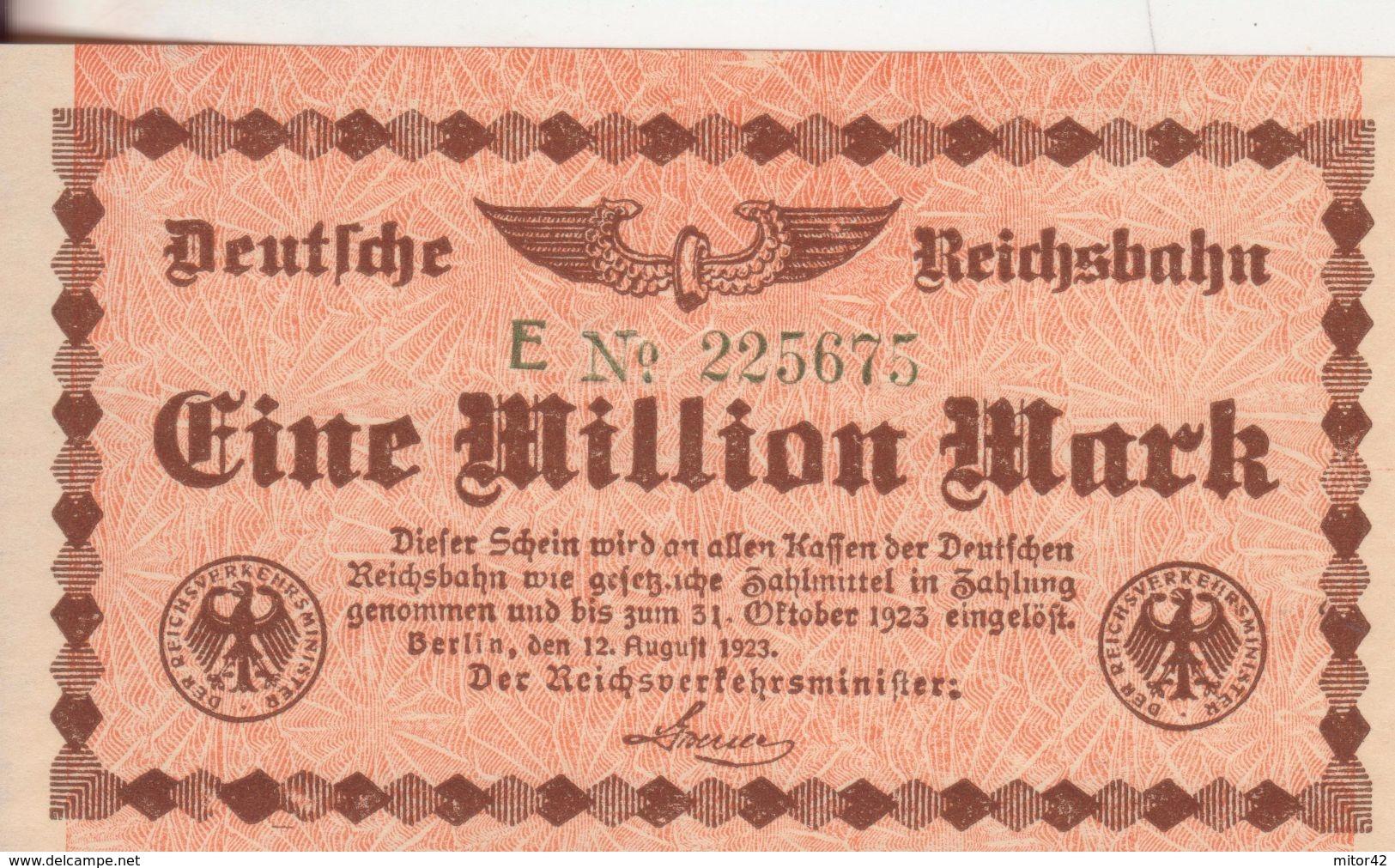23-Germania-Cartamoneta-Banconota F.D.S. 5 Milioni Di Marchi-Stato Di Conservazione:Ottimo - [ 3] 1918-1933 : Repubblica  Di Weimar