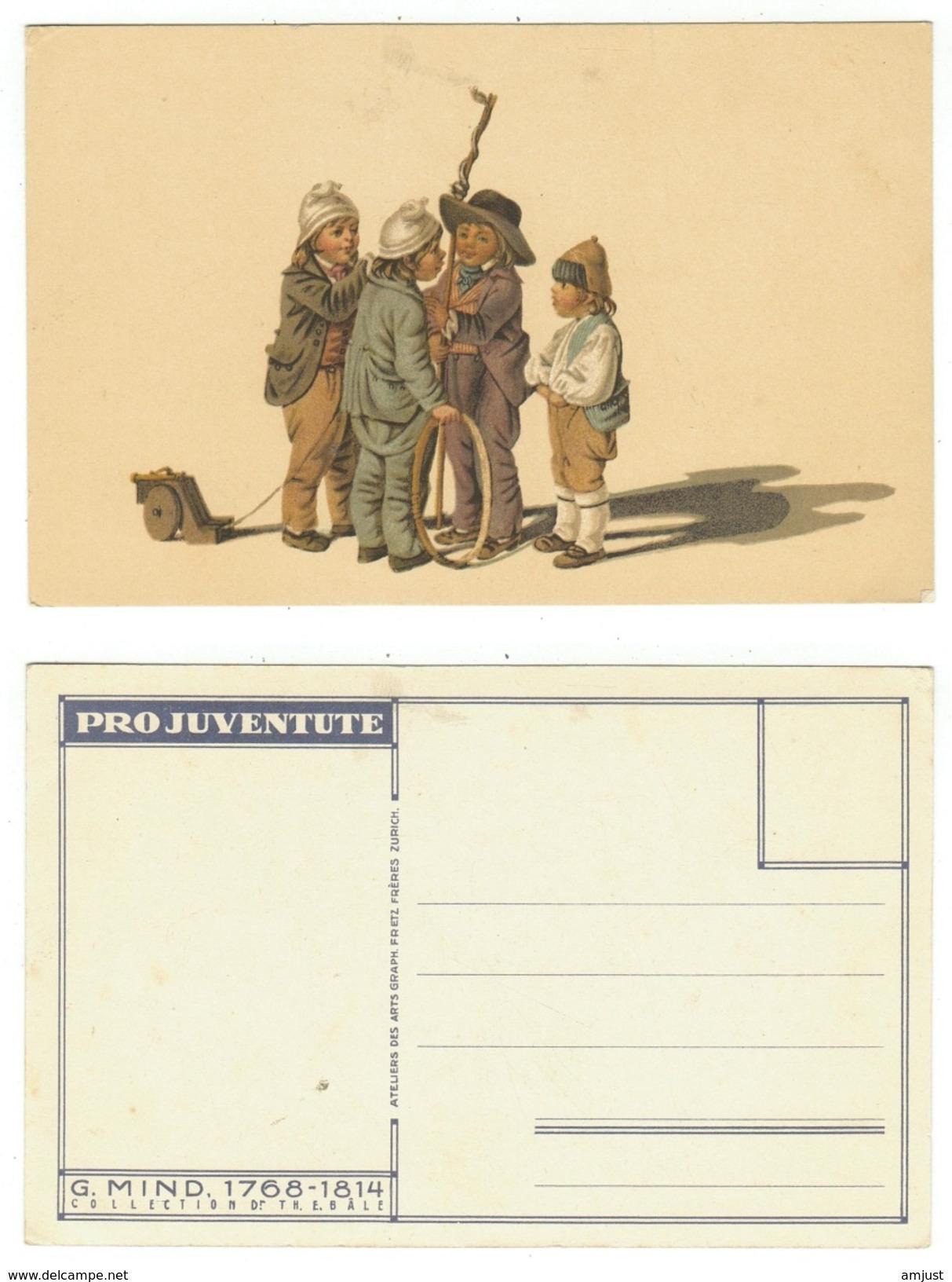Suisse // Schweiz // Switzerland // Pro-Juventute //  Carte Pro-Juventute Neuve - Pro Juventute