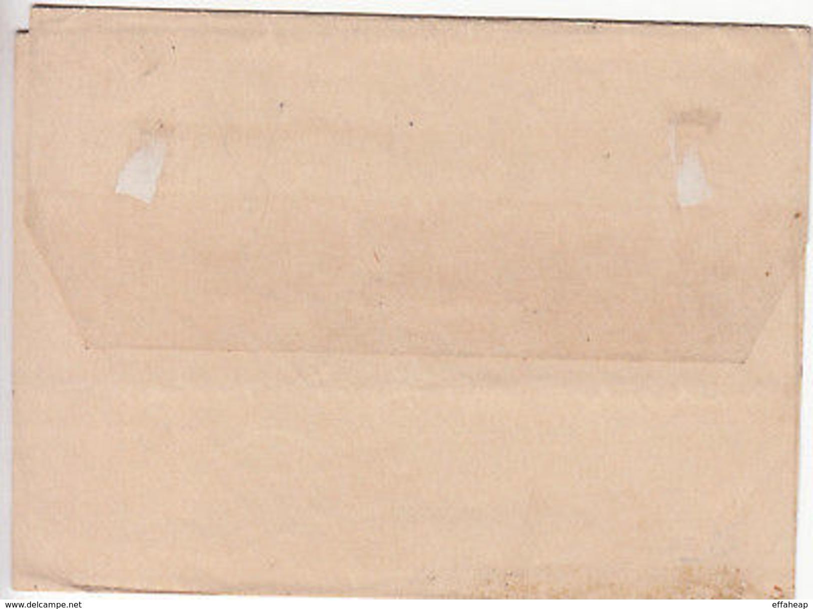 Cyprus: QV Half Piastre Newspaper Wrapper, Nicosia To Larnaca, 21 Sept 1889 - Cyprus (...-1960)